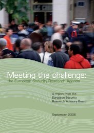 Meeting the challenge: - European Commission - Europa