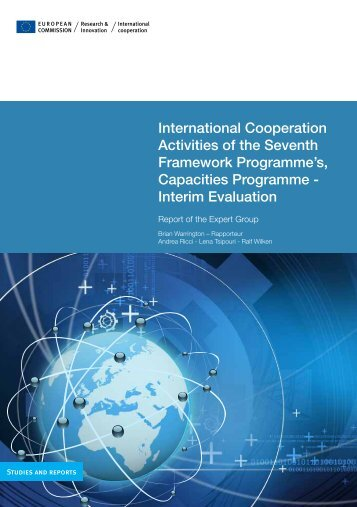 International Cooperation Activities of the Seventh Framework ...