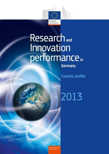 Research and Innovation performance in Germany - KoWi