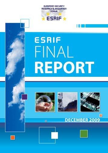I527-290 ESRIF Final Report (WEB).indd - KoWi