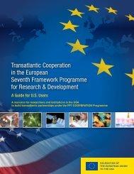 Transatlantic Cooperation in the European Seventh Framework ...