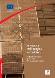 Innovative technologies for buildings - European Commission ...