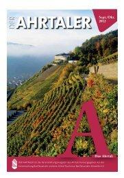 Das Ahrtal. - Ahrtal-Tourismus Bad Neuenahr-Ahrweiler eV
