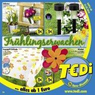 TEDi - Frühlingserwachen - 31.03.2014 - DE