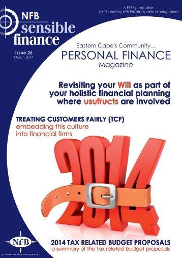 Sensible Finance Magazine Issue 26