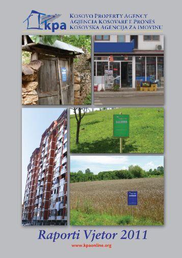 Raporti vjetor 2011 i KPA-së