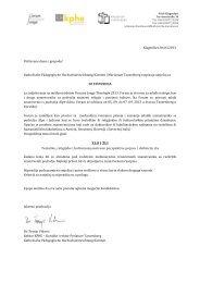 Ausschreibung Kroatisch - KPHE