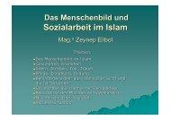 Sozialarbeit im Islam - KPHE