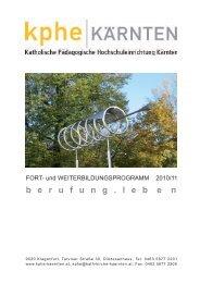 Fort-WeiterBildungsProgramm 2010-2011.indd - KPHE