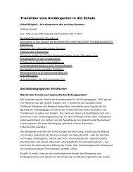 Beitrag Dipl. Psych. Wilfried Griebel