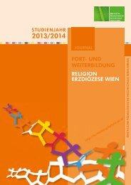 Programm ED Wien 13/14 - Kirchliche Pädagogische Hochschule ...