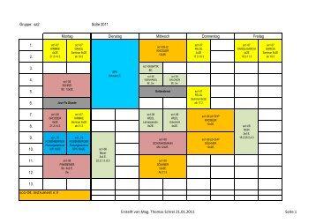 Gruppe: sa2 SoSe 2011 1. 2. 3. 4. 5. 6. 7. 8. 9. 10. 11. 12. 13. so1-04