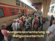 religion kompetenzorientiert unterrichten - dr. ender