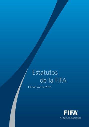 Estatutos de la FIFA (2012) - FIFA.com