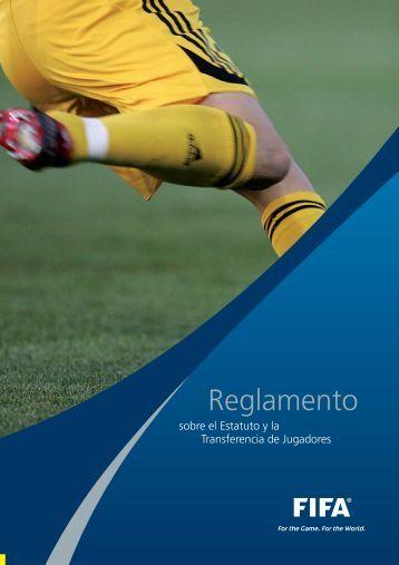 Reglamento sobre el Estatuto y la Transferencia de ... - FIFA.com