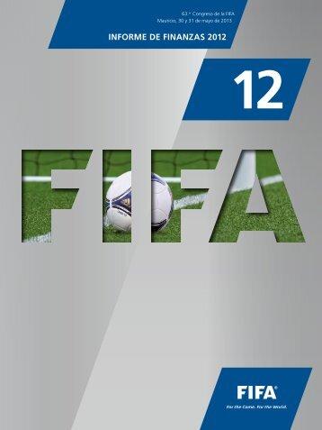 INFORME DE FINANZAS 2012 - FIFA.com