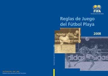 Reglas de Juego del Fútbol Playa - FIFA.com