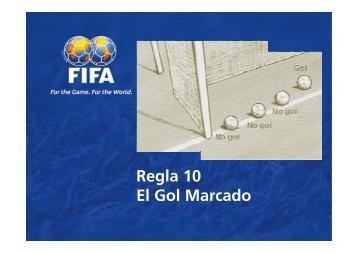 Regla 10 El Gol Marcado - FIFA.com