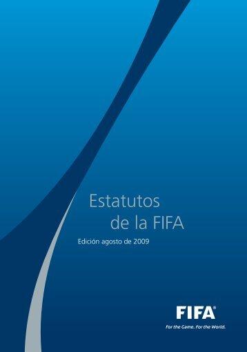 Estatutos de la FIFA (2009) - FIFA.com