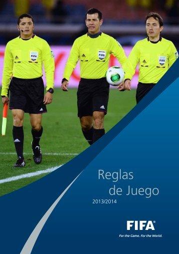 Reglas de Juego 2013/2014 - FIFA.com
