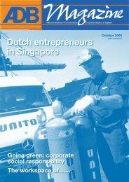Dutch entrepreneurs in Singapore - Association of Dutch Businessmen