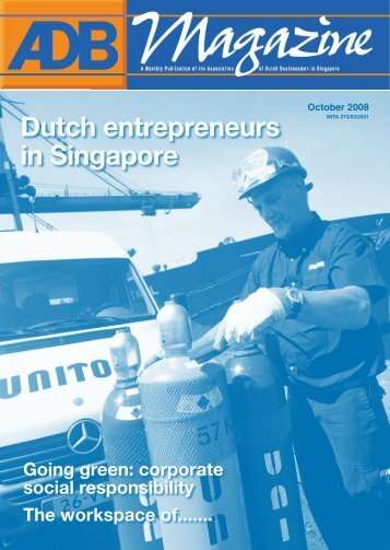 Dutch entrepreneurs in Singapore - Association of Dutch Businessmen