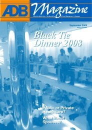 Black Tie Dinner 2008 - Association of Dutch Businessmen