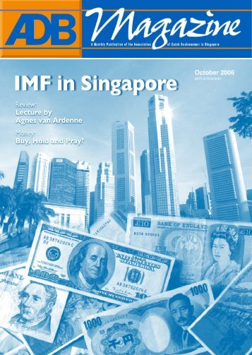 IMF in Singapore - Association of Dutch Businessmen