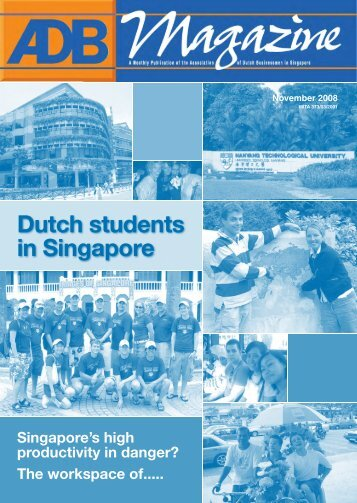 Dutch students in Singapore - Association of Dutch Businessmen