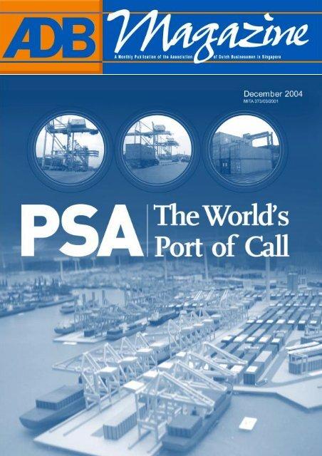 ADB Company visit to PSA - Association of Dutch Businessmen