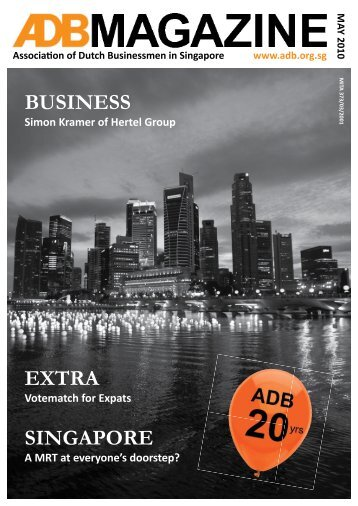 May 2010 - Association of Dutch Businessmen
