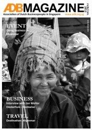 June - July 2013 - Association of Dutch Businessmen