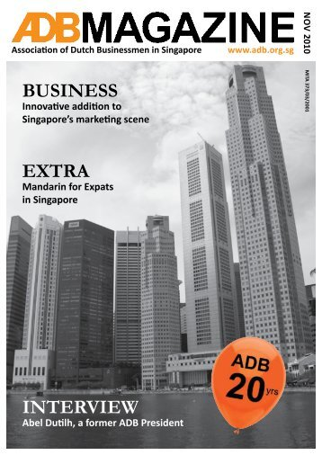 November 2010 - Association of Dutch Businessmen