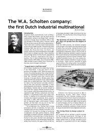 The WA Scholten company