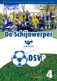 1 Officieel cluborgaan van sportvereniging DSVP juni 2008 nummer