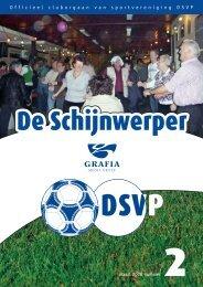 1 Officieel cluborgaan van sportvereniging DSVP maart 2008 nummer
