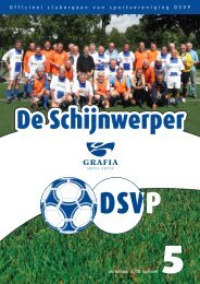 1 Officieel cluborgaan van sportvereniging DSVP september 2008 ...