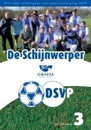 1 Officieel cluborgaan van sportvereniging DSVP april 2008 nummer