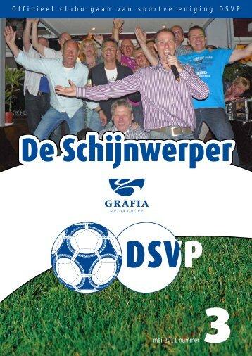 1 Officieel cluborgaan van sportvereniging DSVP mei 2011 nummer