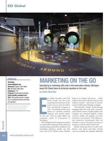 MARKETING ON THE GO - EEI Global
