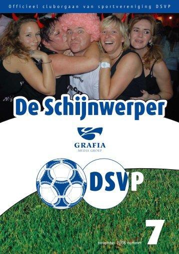1 Officieel cluborgaan van sportvereniging DSVP november 2008 ...