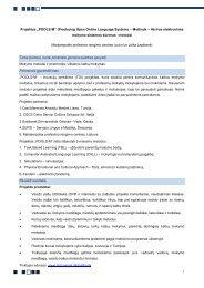 """Projektas """"POOLS-M"""" - Kvalifikacijų ir profesinio mokymo plėtros ..."""