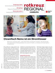 Rotkreuzmagazin 2 / 2011 - DRK Landesverband Hamburg ev