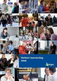 Verkort Jaarverslag 2009 - KPN