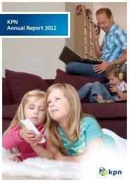 KPN Annual Report 2012