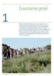 Duurzame groei - KPN