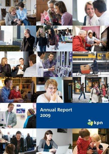 Annual Report 2009 - KPN