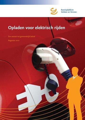 Opladen voor elektrisch rijden - KpVV