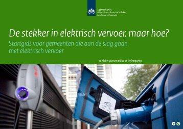 Startgids voor gemeenten die aan de slag gaan met elektrisch ... - Vng