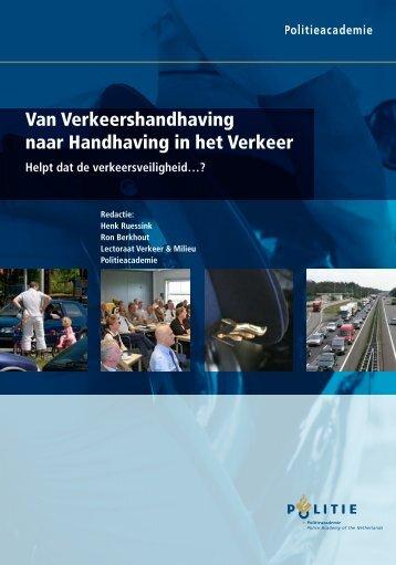 Van Verkeershandhaving naar Handhaving in het Verkeer - KpVV